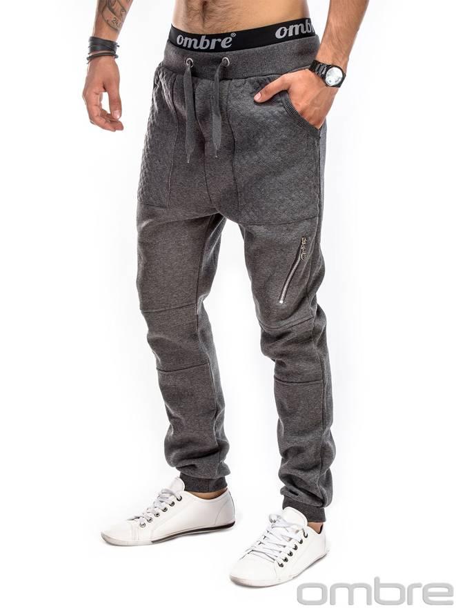 Spodnie P165 - Grafitowe