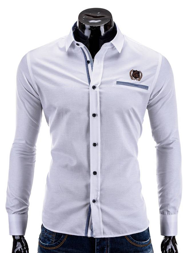 Koszula K256 - BiaŁa