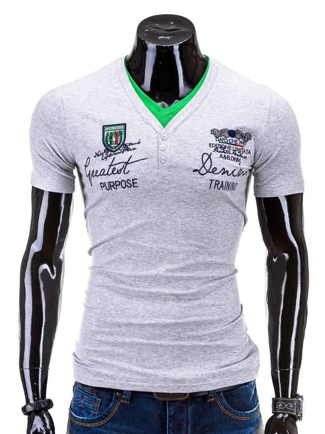 T-shirt S540 - Szary