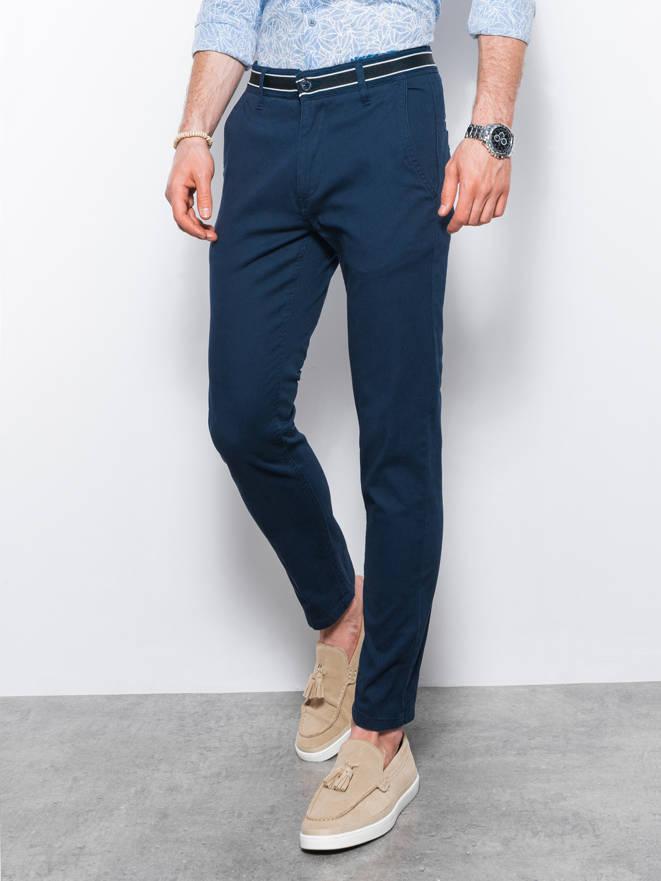 Spodnie P156 - GRANATOWE