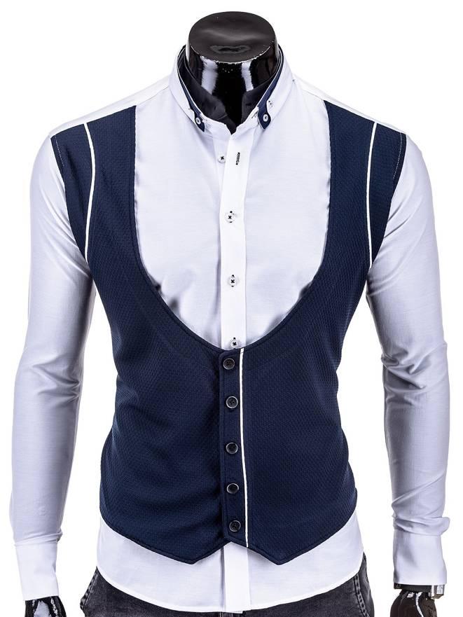 Koszula K245 - BiaŁa