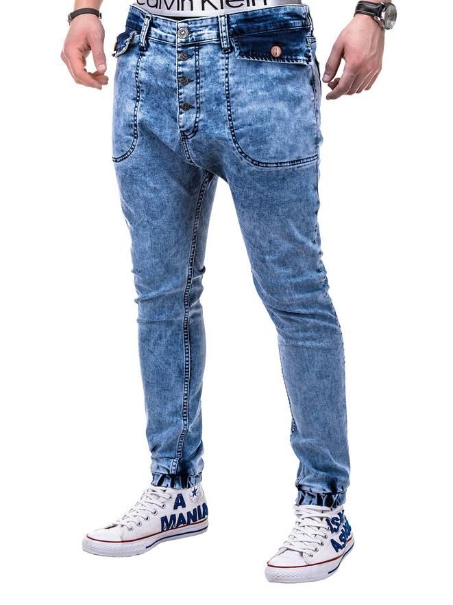 Spodnie P278 - Jasny Jeans