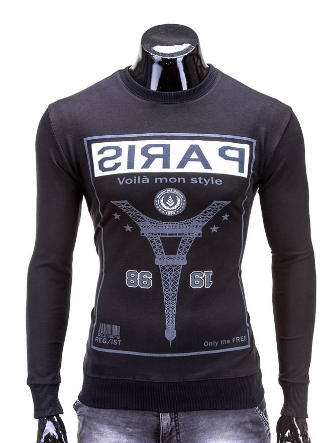 Bluza B478 - Czarna