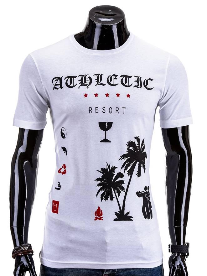 T-shirt S522 - BiaŁa