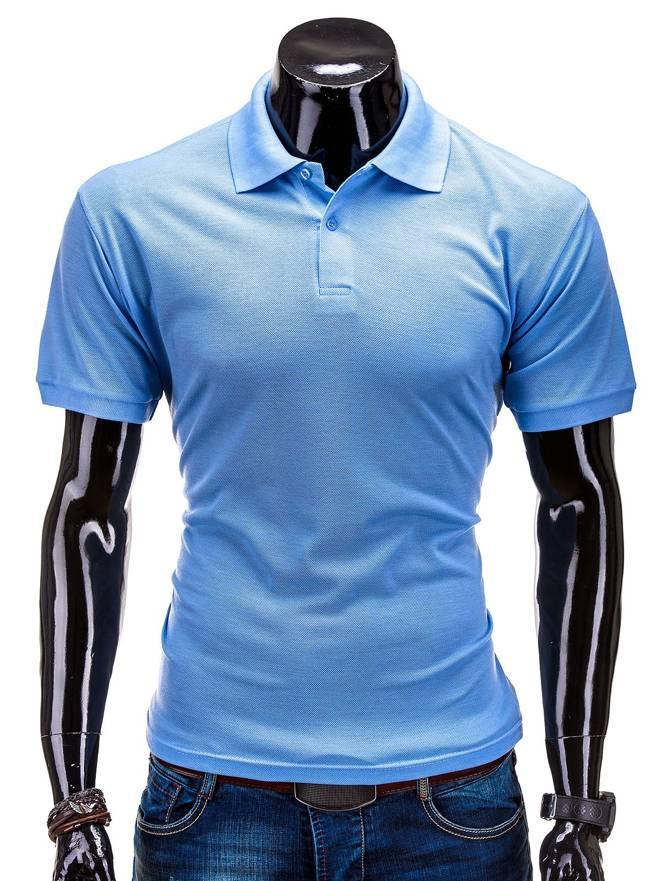 T-shirt S519 - BŁĘkitna