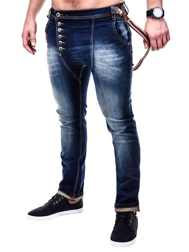 Spodnie P229 - Jeansowe