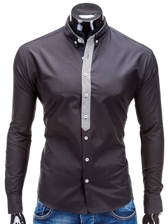 Koszula K101 - Czarna