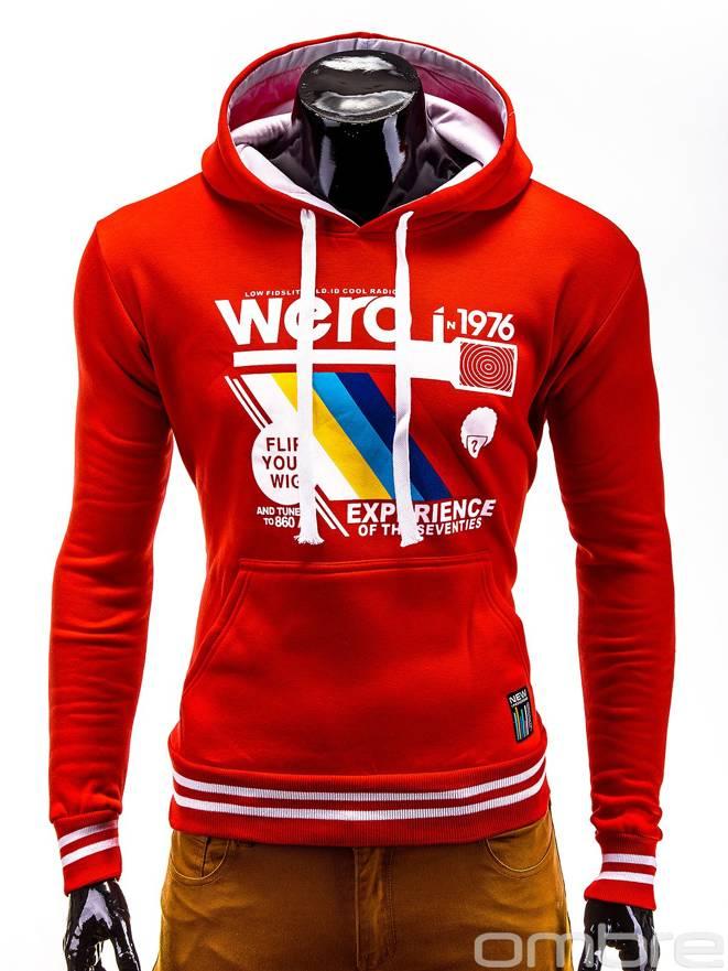 Bluza B411 - Czerwona