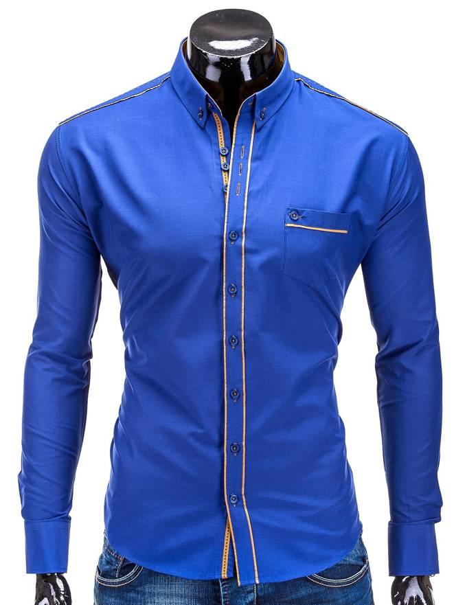 Koszula K230 - Niebieska
