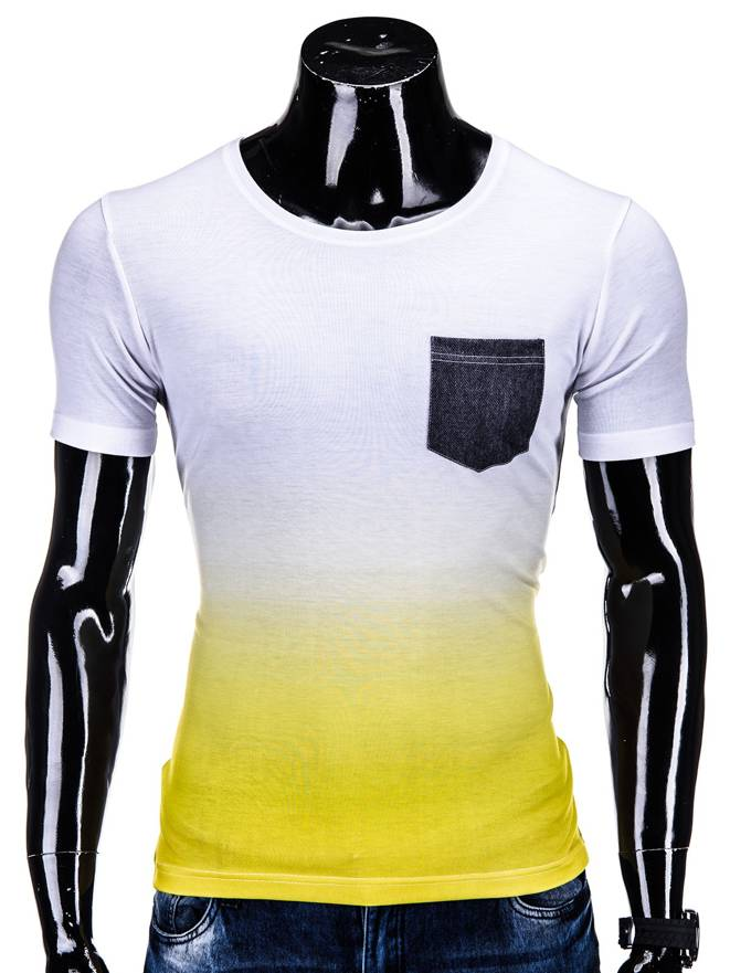 T-shirt S500 - BiaŁo-ŻÓŁty