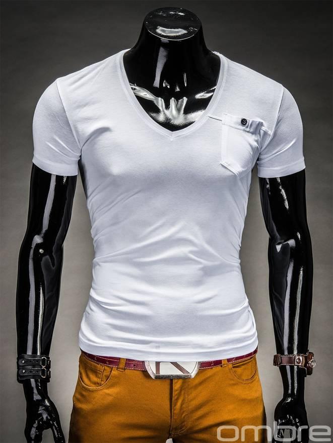T-shirt S210 - BiaŁy