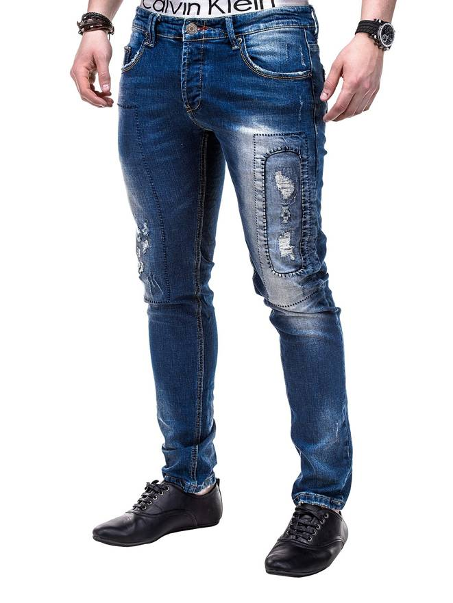 Spodnie P253 - Jeansowe
