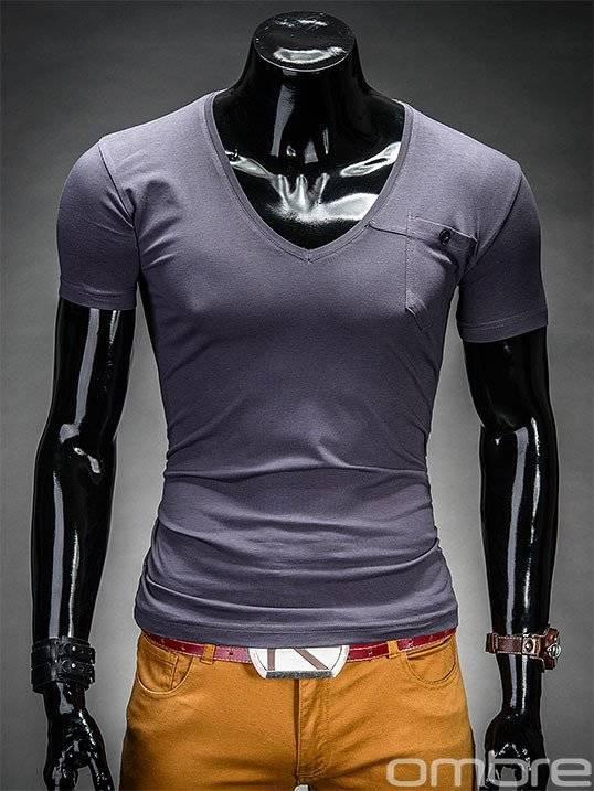 T-shirt S210 - Grafitowy