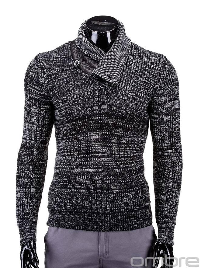 Sweter E76 - Czarny