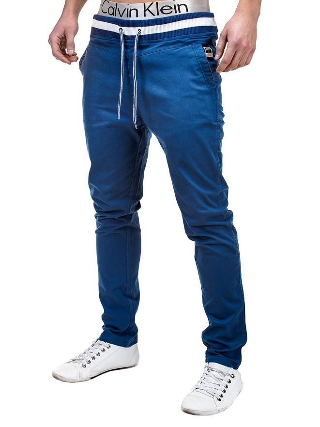 Spodnie P155 - GRANATOWE