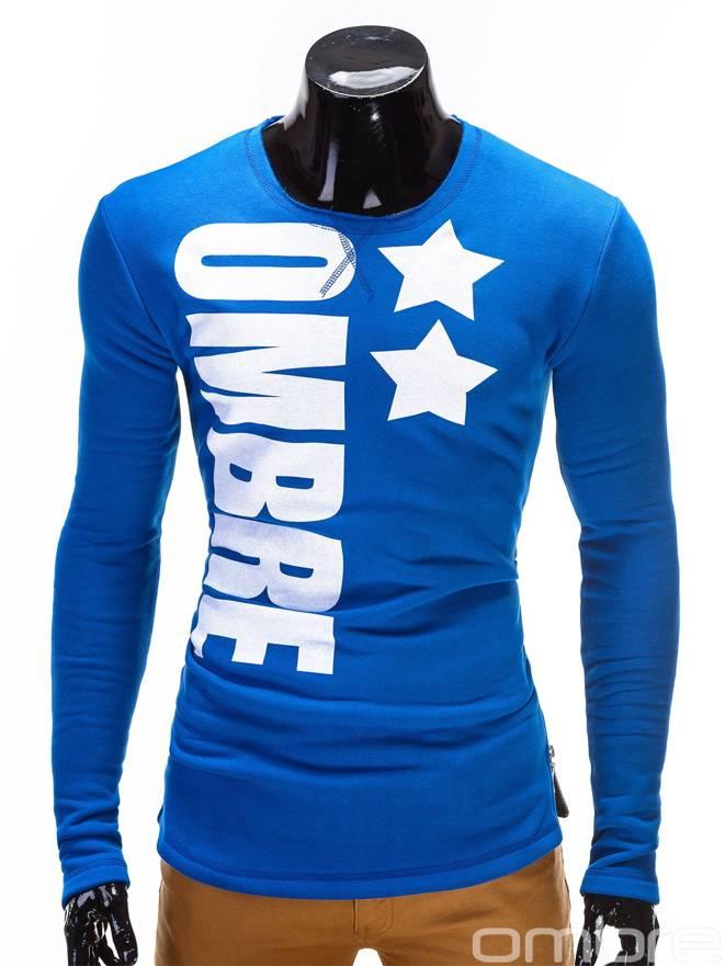 Bluza B328 - Niebieska