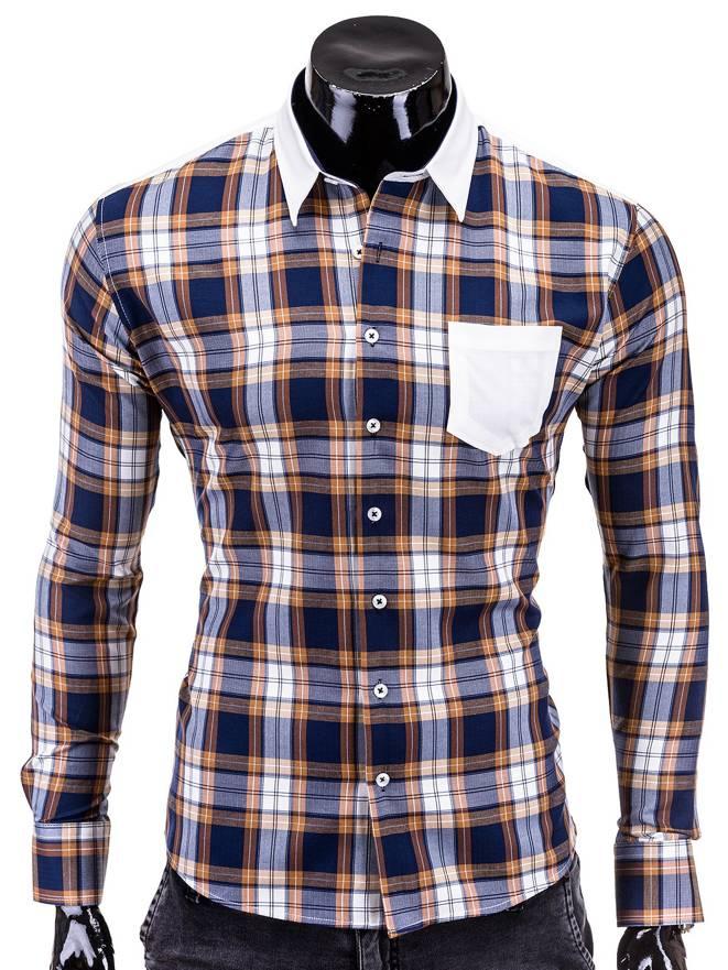 Koszula K174 - BrĄzowa