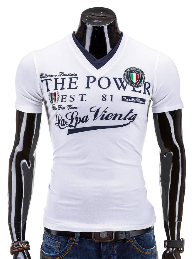 T-shirt 563s - BiaŁa
