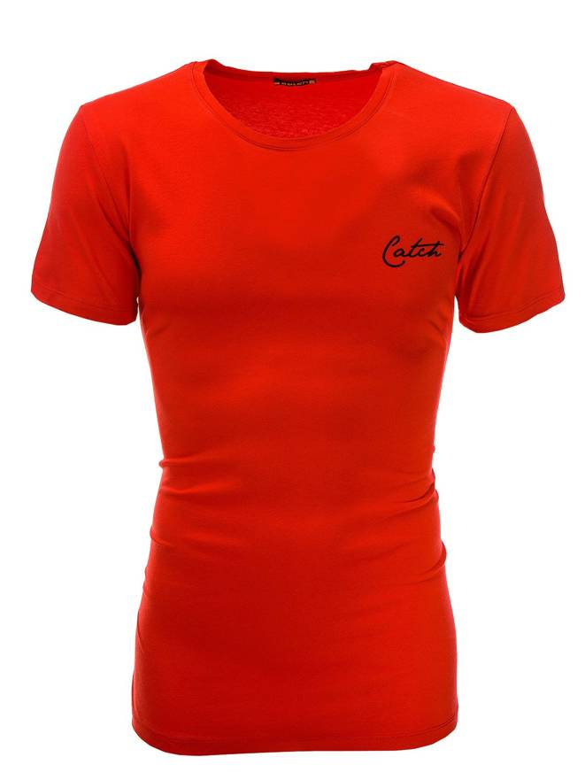 T-shirt S504 - Czerwona