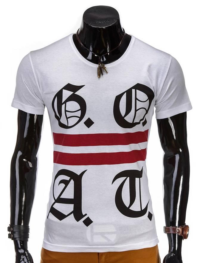 T-shirt S408 - BiaŁa