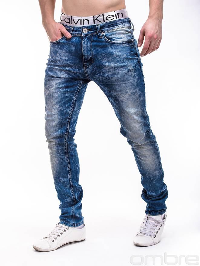 Spodnie P110 - Jeansowe