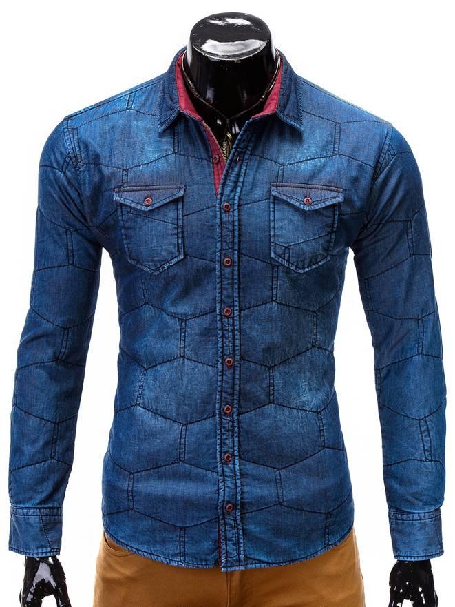 Bluza B344 - Ciemny Jeans