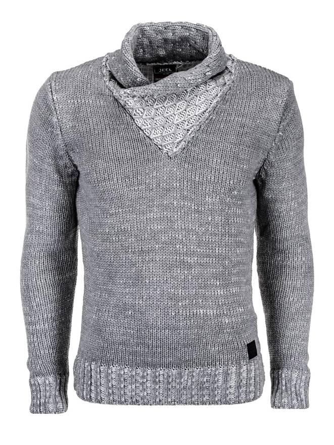 Sweter E78 - Szary