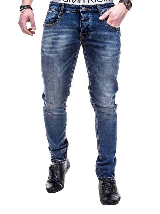 Spodnie P271 - Jeansowe