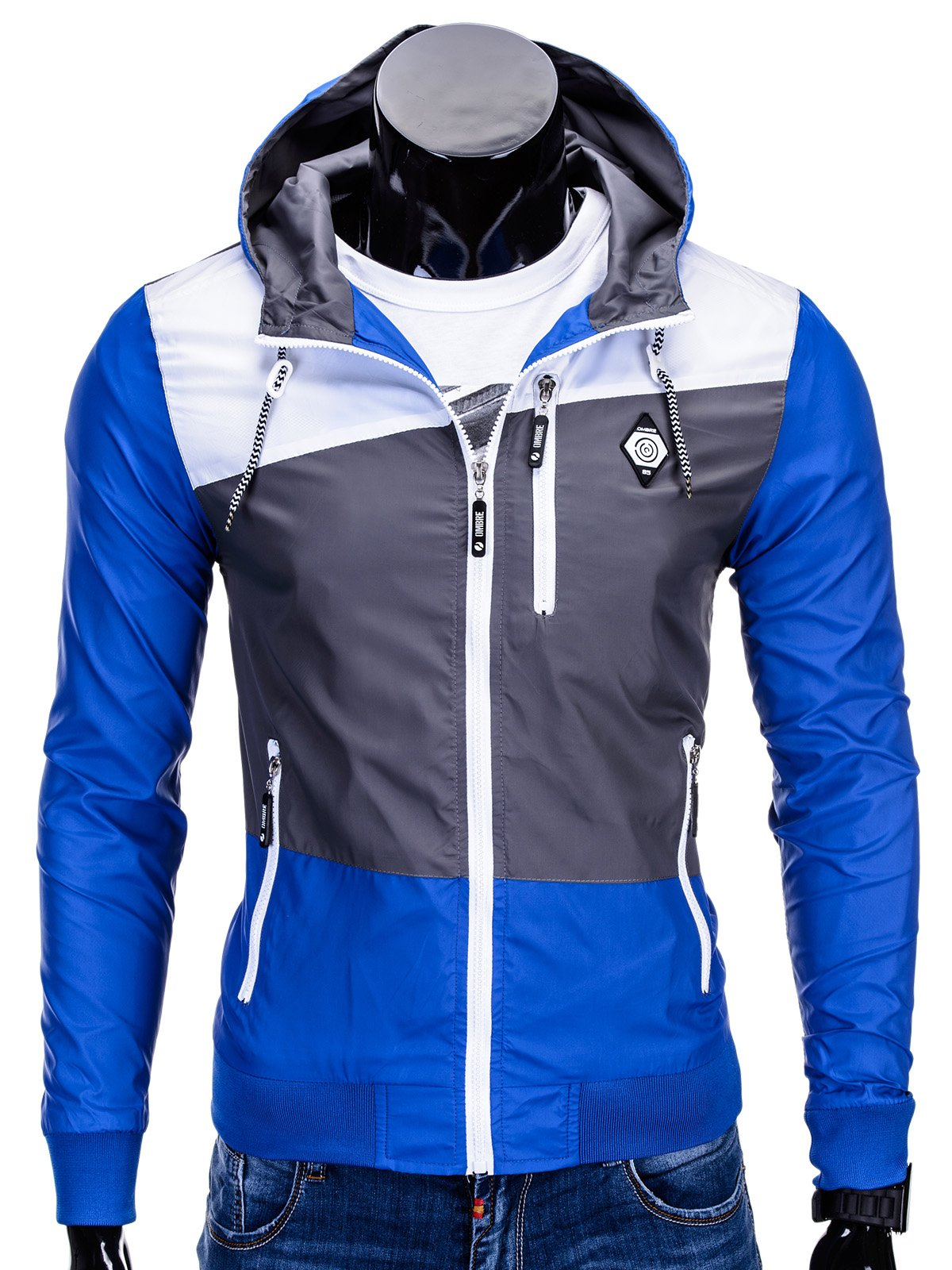 Kurtka C201 - Niebieska