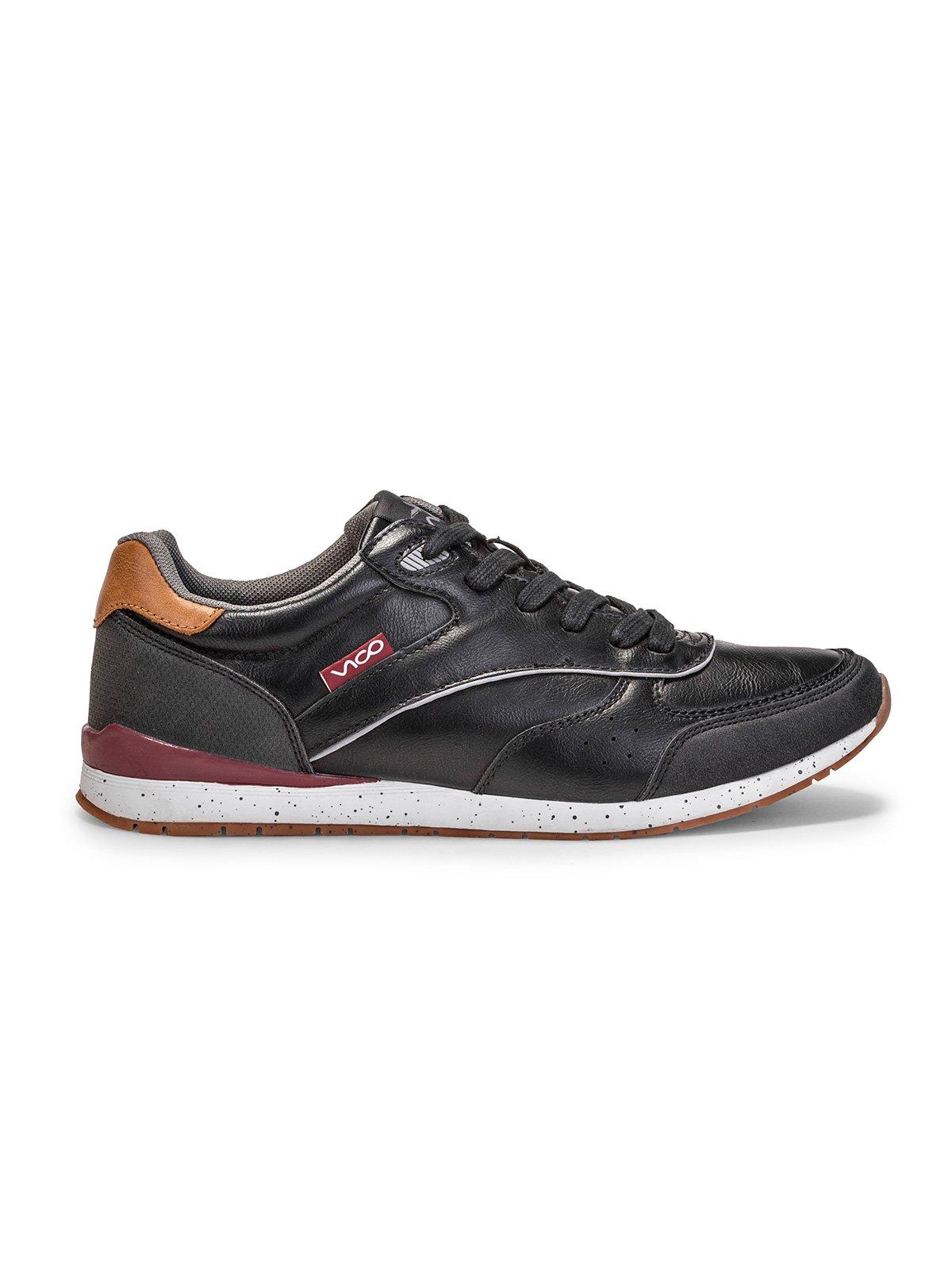 Buty MĘskie Sportowe T197 - Czarne