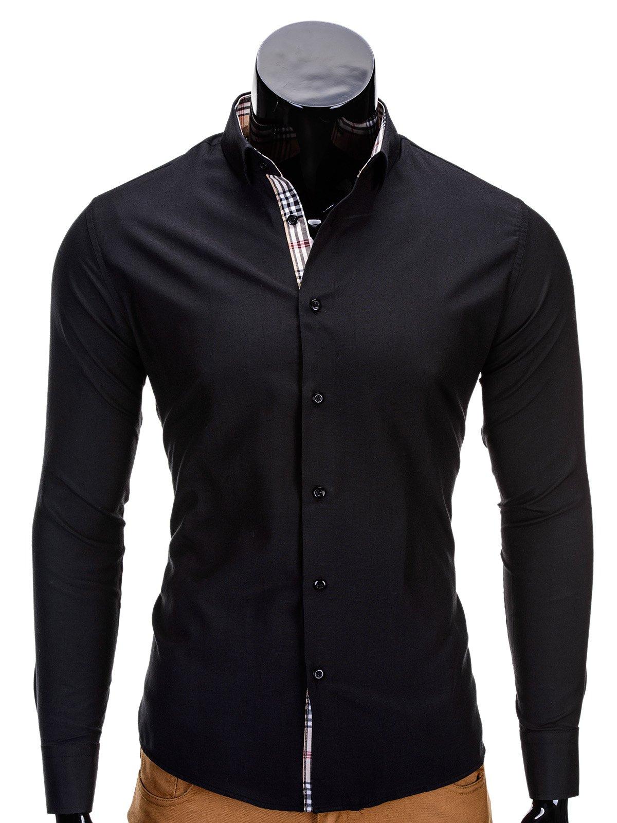 Koszula K165 - Czarna
