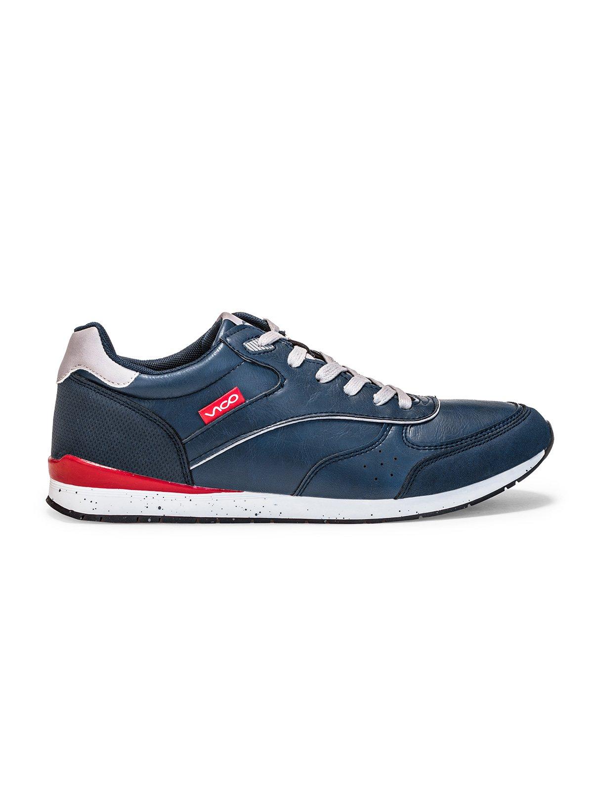 Buty MĘskie Sportowe T197 - Granatowe
