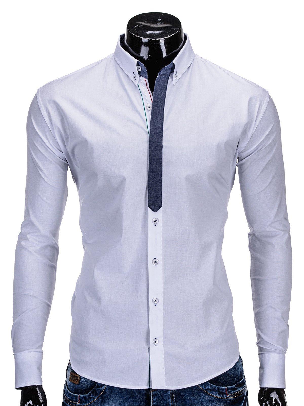 Koszula K89 - BiaŁa