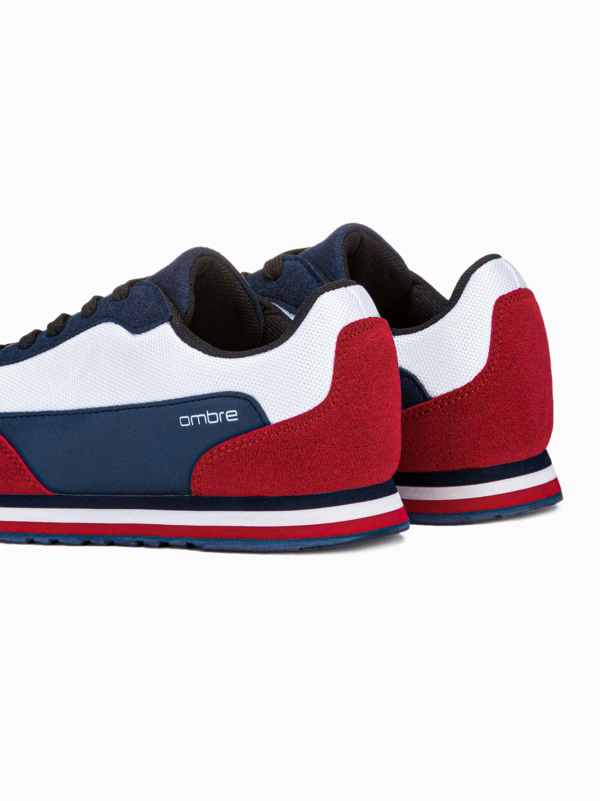 Buty Meskie Sneakersy T349 Granatowe Sklep Ombre Pl