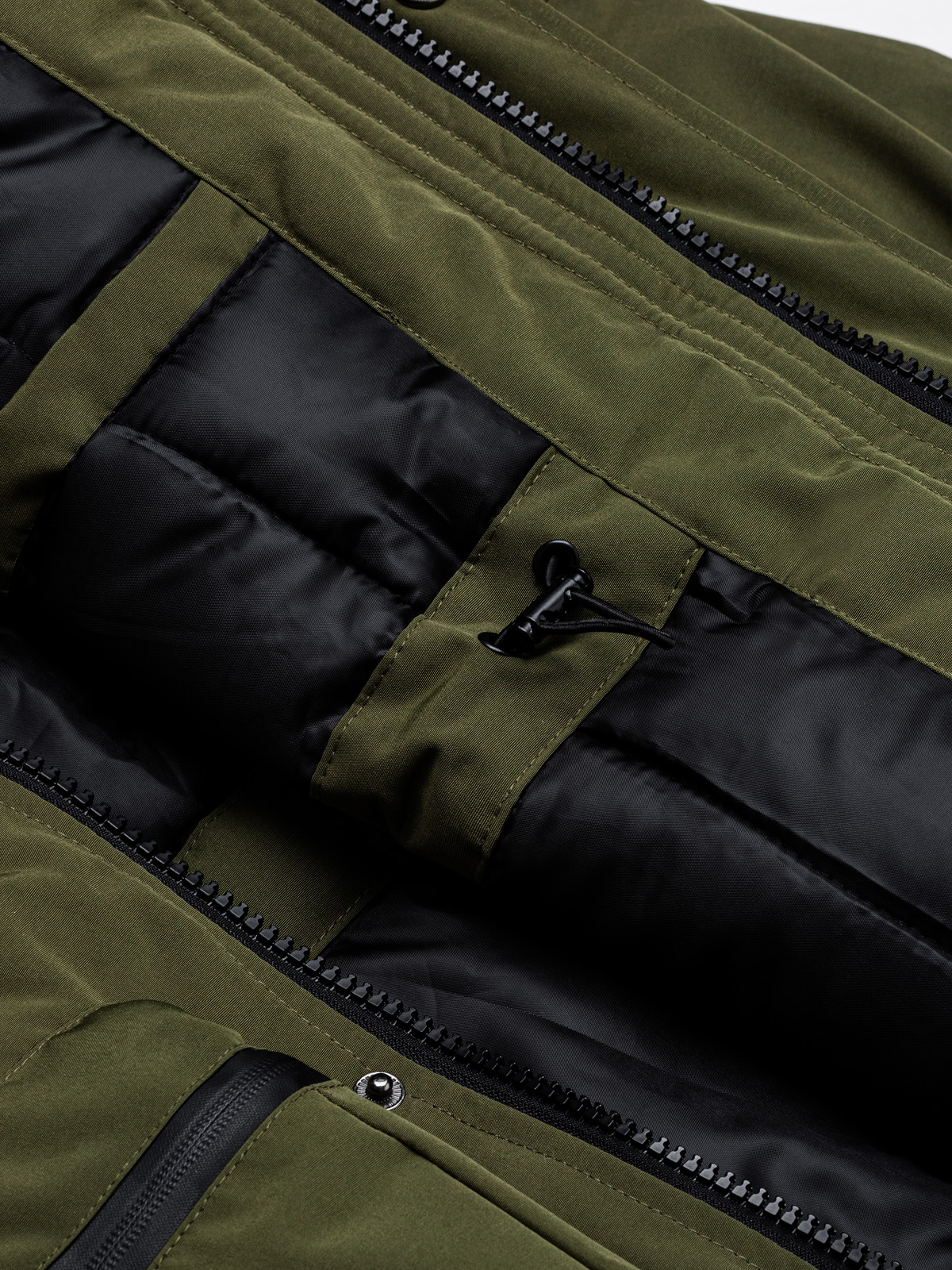 Kurtka męska zimowa C450 - khaki