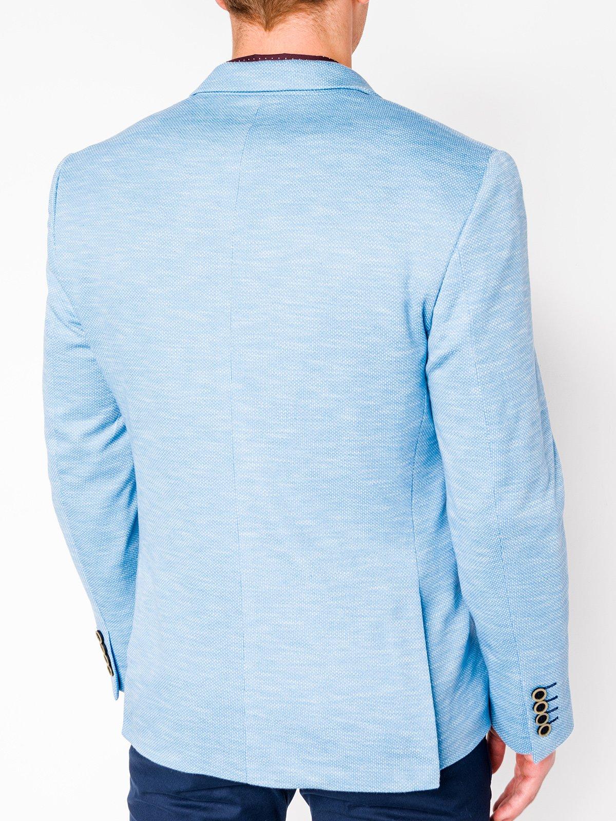 d64546495f622 Marynarka męska casual M88 - błękitna. Cena katalogowa: