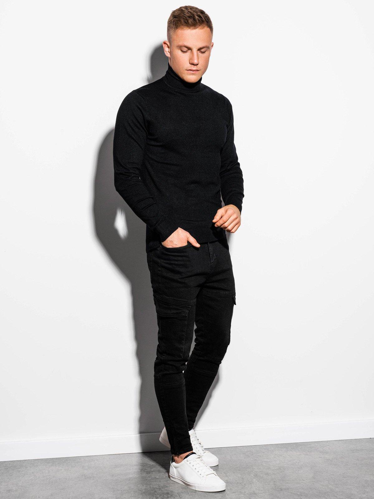 Sweter męski E152 - beżowy