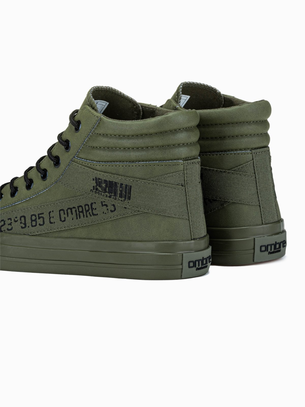 Trampki Meskie Sneakersy T357 Khaki Sklep Ombre Pl