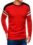 Sweter męski E146 czerwony